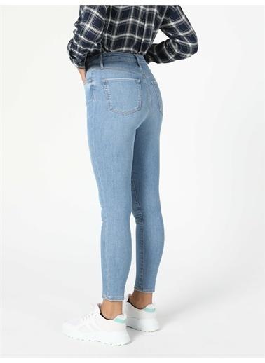 Colin's CL1055517_Q1.V1_DN41463 760 Dıana Yüksek Bel Dar Paça Super Slim Fit Jean Kadın Jean Pantolon Renkli